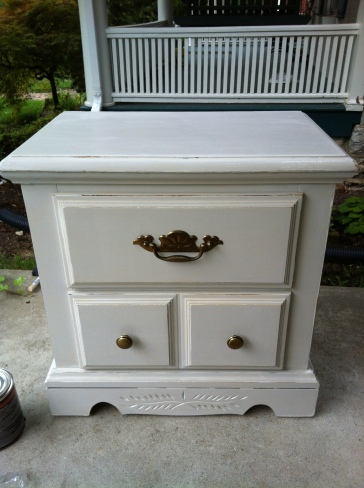 Refinished Nightstand DIY
