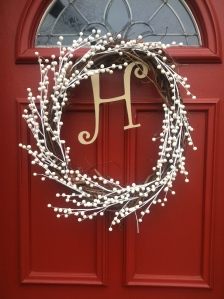 Christmas Wreath - Front Door