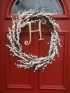 Christmas Wreath - Front Door