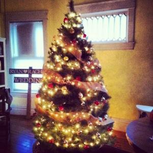 Vintage Real Christmas Tree